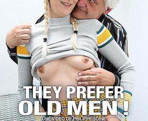 They Prefer Old Men ! / Ellis Préfèrent Les Vieux ! (Philippe Soine, Philippe Soine Productions) [2019 g., Anal, Blowjobs, Cumshots, European, Fingering, Footjob, French, Gonzo, Older Men, Outdoors, Threesomes, WEB-DL, 720p] (Olga Cabaeva, Melody Pleasure)