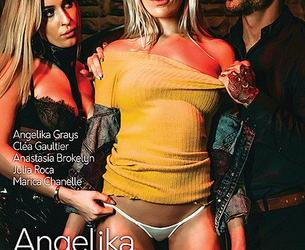 Angelika, An Indecent Story / Angelika l'indécente (Alis Locanta, Marc Dorcel) [2020 g., Feature, Anal, France, French, Rimming, Threesome, Group, Stockings, High Heels, WEB-DL, 1080p] (Clea Gaultier, Julia Roca, Angelika Grays, Anastasia Brokelyn, Marica Chanel)