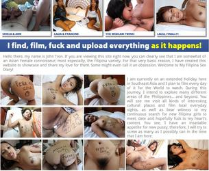 [FilipinaSexDiary.com] Filipina Sex Diary / Sex Dnewnik Filippinki (17 rolikow) [2012 g., Blowjob, Masturbation, Cumshot, Facial, Creampie, Oral, Asian, 720p] Chast' 2