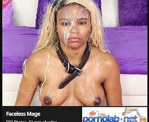 [GhettoGaggers.com] Faceless Mage [2020, Anal, DP, Blowjob, Deep Throat, Puke, Slapping, Doggy, Cumshot, Rough Sex, Humilation, Verbal Abuse, Pissing, 1080p]