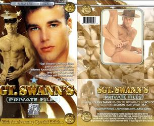 Sgt. Swann's Private Files / Chastnye dos'e serzhanta Lybedq (Chris Stevens, Seabag Productions / Pleasure Productions / All Worlds Video) [1985 g., Oral, Anal, Pre-condom, Amateur, Jerk Off, Rimming, Group, Hunks, Str8, Gay4Pay, Military, VHSRip]