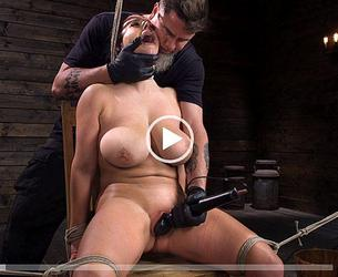 [Hogtied.com / Kink.com] Angela White (Angela White: Complete Submission to The Pope / 02.01.2020) [2019 g., BDSM, Big Tits, Bondage, Brunette, Corporal Punishment, Couple, Crop, Curvy, Domination, Feet, Fingering, Handler, Humiliation, Natural Boobs, Pain, Rope Bondage, Straight, Submission, Suspension, The Chair, The Pope, Vaginal Penetration, White, Zapper, 540p]