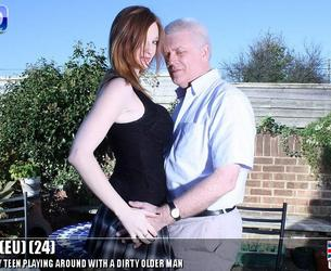 [Teens-Love-Oldmen.com / Mature.nl] Zara (EU) (24) (TLOM-Tower Episode 2 / 9.12.14) [2014 g., Teen, Big Tits, All sex, Oldman, 720p]