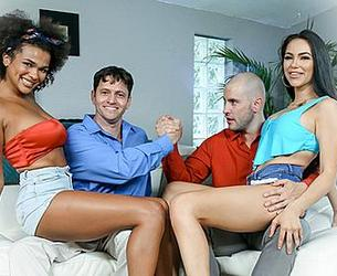 [DaughterSwap.com / TeamSkeet.com] Alina Ali & MJ Fresh - The Potion [2020.08.10, All Sex, Foursome, FFMm, Ebony, Big Ass, Big Tits, Blow Job, Brunette, Cowgirl, Cum In Mouth, Doggystyle, Facial, Fake Tits, Indoor, Step Dad, 2160p]