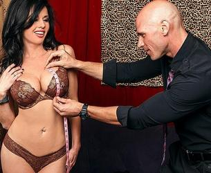 [MilfsLikeItBig.com / Brazzers.com] Veronica Avluv (The Right Fit / 26.12.2012) [Cum on Tits, Big Tits, Squirt, MILF] [1080p]