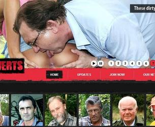 [OldPerverts.com / Maniacpass.com] Old Perverts / Starye Izwraschency (10 rolikow) [2012 g, All sex, Old Men, Teen, SiteRip] chast' 2