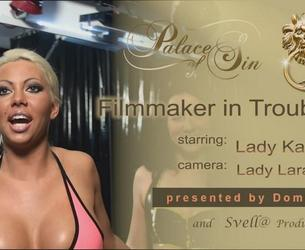 "[Kates-Palace.com] Lady Kate - ""Filmmaker in Trouble 01"" [2011 g., Sadism & Masochism, Anal Fisting, Femdom, Humiliating, Bondage, Device, Latex/Rubber, Big tits, SiteRip, 720p]"