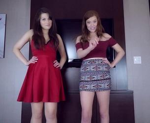 [clips4sale] Princess Ellie Idol & Princess Kaelin - Double Domme Middle Finger JOI [1080p]