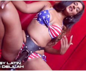 [Clips4Sale.com] Bossy Delilah - Red, White, & Blow Me POV [WMV][480p] [Fetish Syndicate]