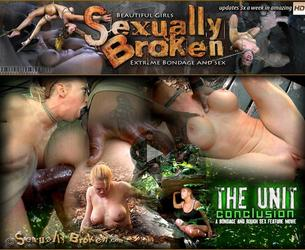 [SexuallyBroken.com] The Unit: The Conclusion. A full Feature BaRS Presentation! Amazing Bondage Brutal Sex! / September 23, 2013 / Darling, Hazel Hypnotic, Matt Williams, Jack Hammer [2013 g., BDSM, Bondage, Domination, Hardcore, 720p, HDRip]