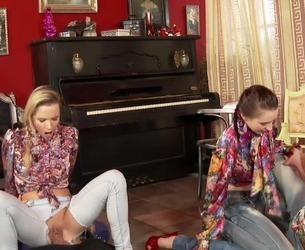 Sindrive.com - Piss and Fist Lessons Part 1 - Chelsy Sun, Bella Baby, Leony Aprill, Kitty Jane, Angel Piaf.mp4