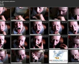 145 thick facial on wifel.wmv